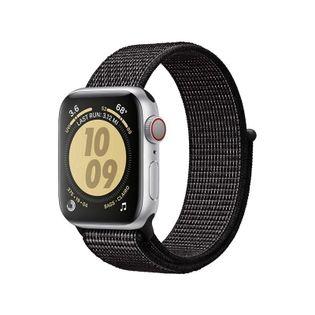 Crong Reflex Band - Pasek sportowy do Apple Watch 38/40 mm (czarny)
