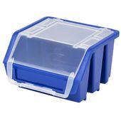 Mini Pojemnik Magazynowy Warsztatowy Ergobox 1 niebieski plus Patrol