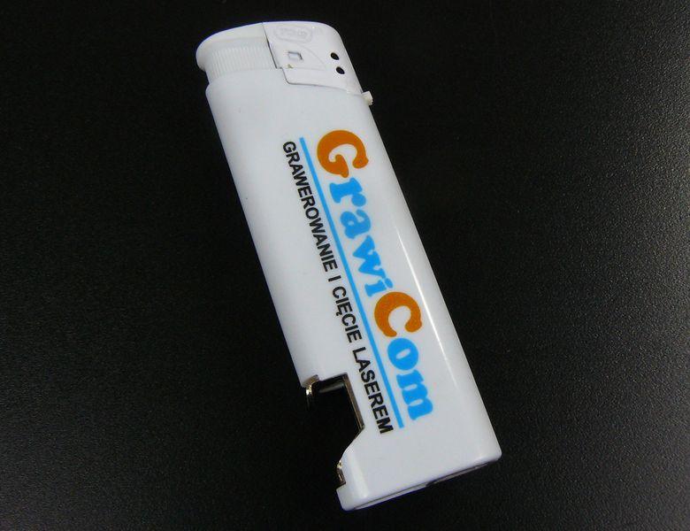 zapalniczka z otwieraczem reklamowa firmowa z nadrukiem UV 100 szt zdjęcie 9