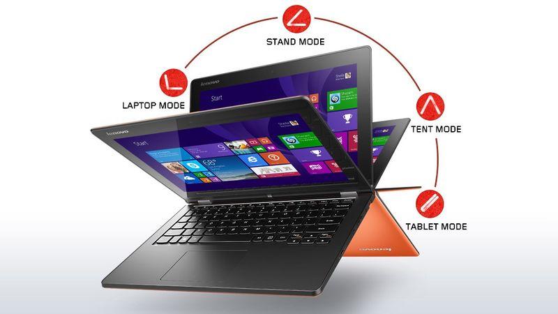 "Lenovo Yoga 2 (11) Intel Celeron N2940 4GB RAM 500GB WIN 8"" zdjęcie 4"