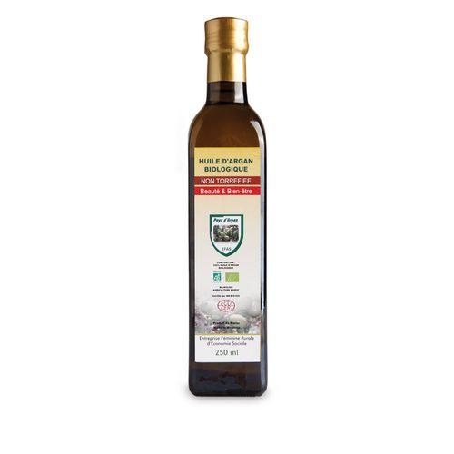 OLEJ ARGANOWY BIO z certyfikatem ECOCERT- szklana ciemna butelka 250 ml na Arena.pl