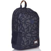 Plecak szkolny młodzieżowy Astra Head HD-09, granatowy w liście