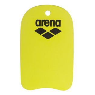 ARENA DESKA CLUB KIT KICKBOARD ADULT NEON YELLOW-BLACK BASEN TRENING