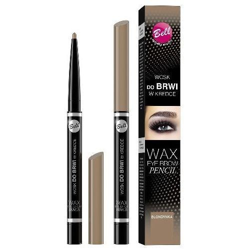 Bell Wax Eyebrow Pencil Wosk Do Brwi W Kredce 01 Blondynka 12Ml na Arena.pl
