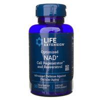 Life Extension NAD+ Cell Regenerator™ z resweratrolem 300 mg - 30 kapsułek
