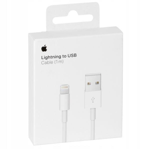 ORYGINALNY KABEL Apple iPhone 5 5S 5C SE 6 6S + 7 8 X XS XR iPad - 1M zdjęcie 1