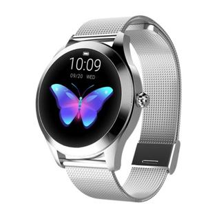 Damski Zegarek Smartwatch Srebrny FUNKCJE