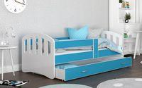 Łóżko HAPPY 140x80 szuflada + materac