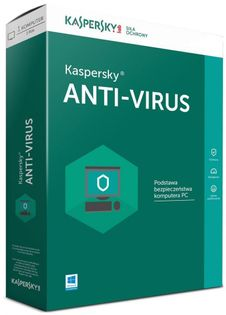 Kaspersky Anti-Virus 2U-1Y Esd