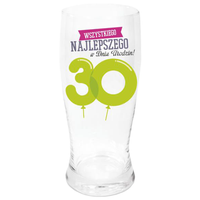 Szklanka Do Piwa 30 Urodziny