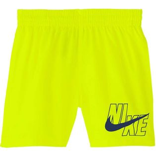 Spodenki kąpielowe dla dzieci Nike Logo Solid Lap JUNIOR żółte NESSA771 731