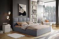 Łóżko tapicerowane Ferrara 180x200 stelaż pojemnik