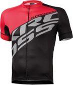 Koszulka KROSS Rubble czarno-czerwona XL zdjęcie 5