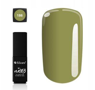 Silcare lakier hybrydowy Flexy 4,5g kolor 186