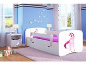 Łóżeczko BabyDreams 180x80 - Jednorożec
