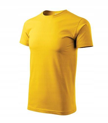 ADLER BASIC koszulka 04żółty bawełniana rS na Arena.pl