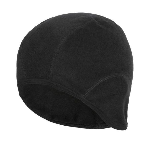 Czapka kolarska Fleece czarna - r. L/XL zdjęcie 1