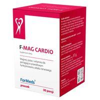 ForMeds F-MAG CARDIO Cytrynian MAGNEZU + POTAS + WITAMINA B6 - 30 porcji, proszek - suplement diety