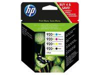 HP Inc. Tusz nr 920XL Combo CMYK C2N92AE