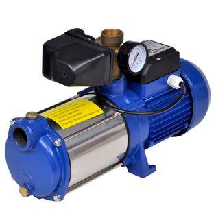 Pompa strumieniowa z miernikiem 1300 W 5100 L/godz. Niebieska GXP-687737