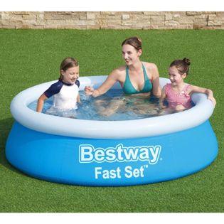 Lumarko Nadmuchiwany basen Fast Set, okrągły, 183x51 cm, niebieski!
