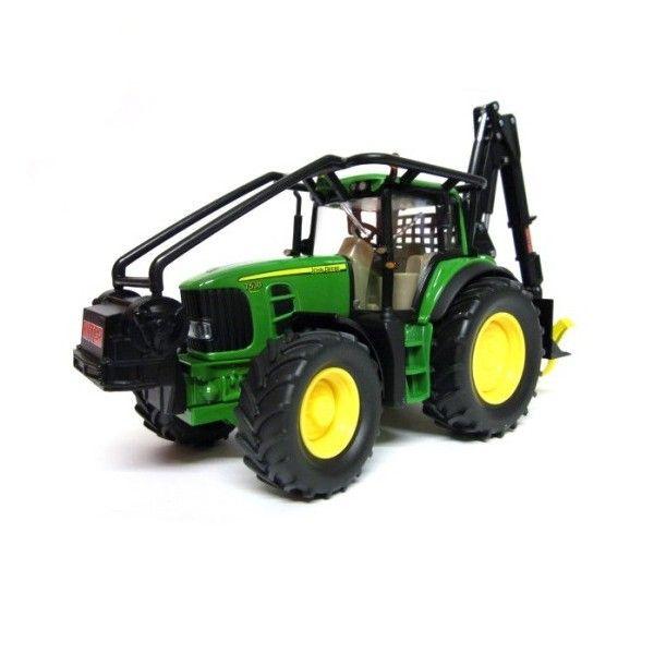 Siku Traktor leśny John Deere zdjęcie 2