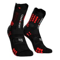 Skarpety trailowe COMPRESSPORT PRO RACING SOCKS TRAIL V3.0 - czarno-czerwony T3