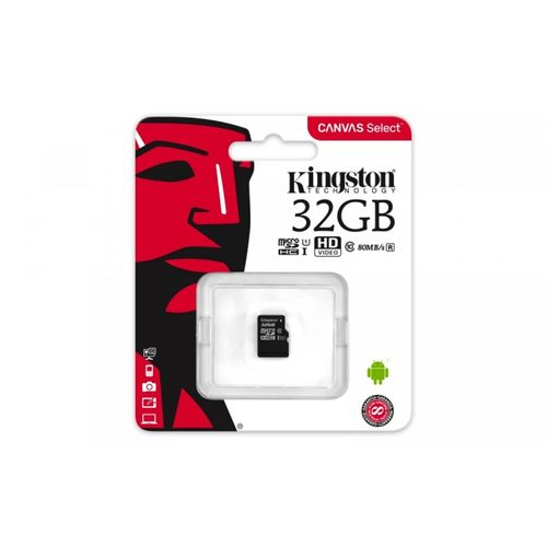 KARTA PAMIĘCI KINGSTON 32GB CLASS10 UHS-I MICRO SD HC CANVAS SELECT na Arena.pl
