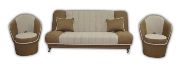 OSKAR BIS - wersalka kanapa fotel zestaw komplet wypoczynkowy