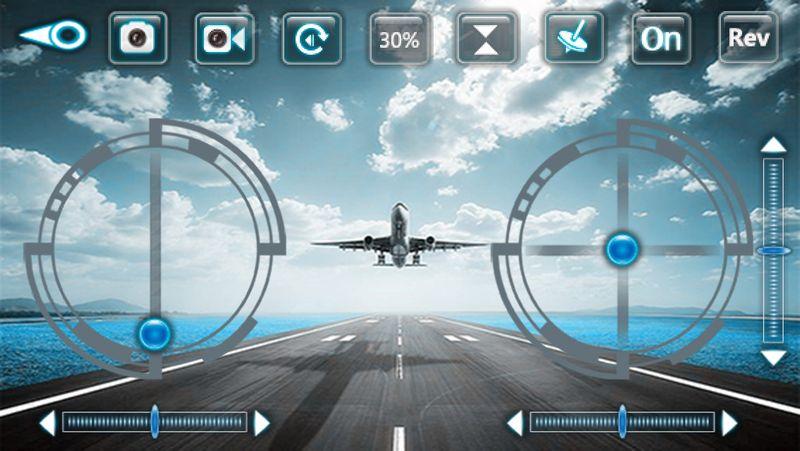 DRON TYPHON X15 z Kamerą WiFi na telefon 4000mAh (2xAku) Z184Z zdjęcie 12