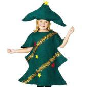 strój CHOINKA dla dzieci ŚWIĘTA drzewko 10-12 lat