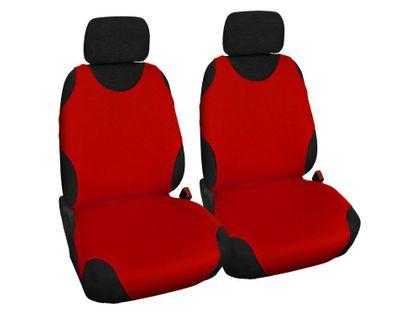 Koszulki samochodowe Bawełniane Kolor słownie - Czerwony