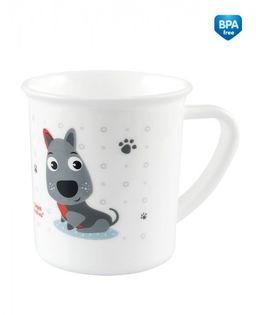 Canpol Kubek plastikowy Cute Animals 170ml Kolor - Szary