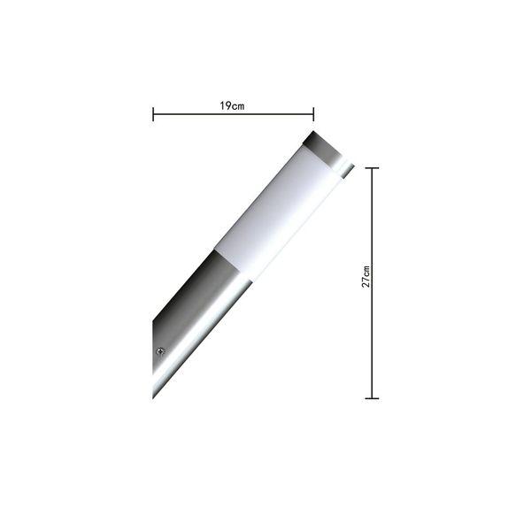 Lampa ogrodowa, ścienna RVS zdjęcie 3