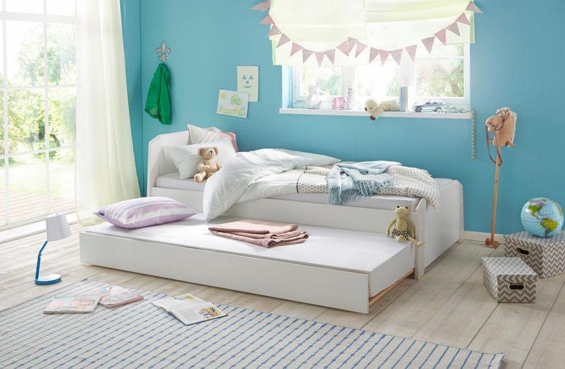Praktyczna dostawka do łóżka ze stelażem zdjęcie 2
