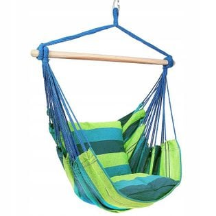Krzesło Wiszące Brazylijskie z Poduszkami Ogrodowe Forest