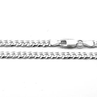 Łańcuszek srebrny męski pancerka 60 cm