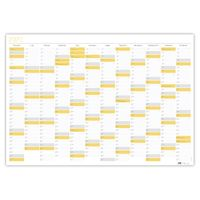Planer Kalendarz Ścienny 2021 Ogromny Sun Suchościeralny
