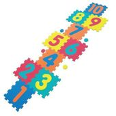 Anek Mata Piankowa Cyfrowe Puzzle Gra w Klasy