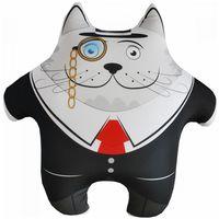Relaksacyjna poduszka 3D na prezent - Kot Dyrektor