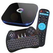 Android SMART TV BOX QBOX 2GB / 16GB + Klawiatura