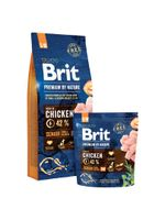 Brit Premium By Nature Senior S+M 1 Kg