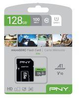 Karta pamięci PNY MicroSDXC 128GB P-SDU128V11100EL-GE