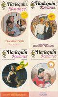 Harlequin Romance zestaw 4 książek różne autorki