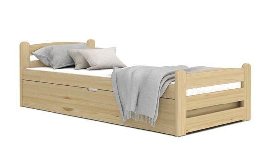 Łóżko DAWID sosna 200x90 podnoszone automat