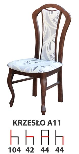Krzesła Krzesło Tanio A11 Producent Promocja Drewniane Tapicerowane