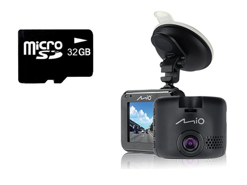 Wideorejestrator Kamera MIO C320 Full HD + 32GB zdjęcie 1