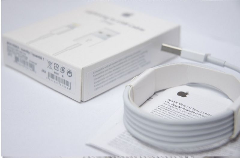 ORYGINALNY KABEL iPhone X 8 plus 8 7 plus 7 6s 6 5s 5c 5 iPad 1 metr zdjęcie 5