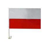 Auto Flaga FLAGI POLSKI 45x30 HIT