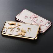 Case Etui Obudowa Iphone 7 8 Motyle 3D zdjęcie 2